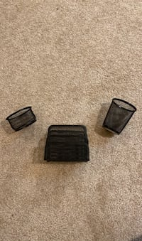Rubbermaid Office Supply Organizer (3 parts)
