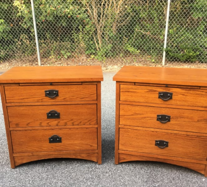 Used Thomasville Furniture Impression 7 Pc Bedroom Set For Sale In