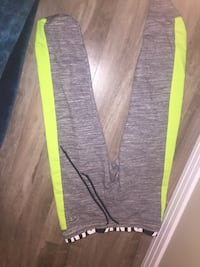 grey and yellow sweatpants from PINK Edmonton, T5X 2J3
