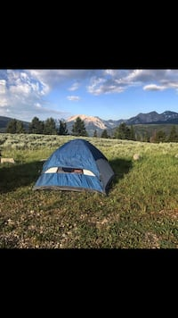 blue and white camping tent Auburn, 04210