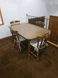 Table w/ 4 Chairs (5ft x 3ft)