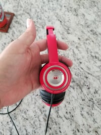 Monster N'Tune Headphones Red