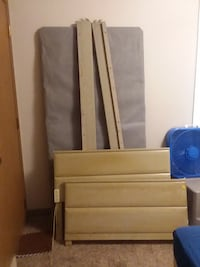 bed frame  mattress and spring box stand Rochester