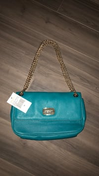 blue leather 2-way handbag Washington, 20001