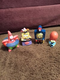 Sponge bob collectibles I have pay pal to ship Hasbrouck Heights, 07604