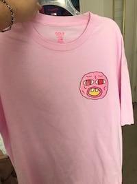 Golf wang pink cherry bomb short sleeve shirt  Woodbridge, 22191