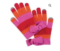 NWT, Mud Pie Lucy Bow Smart Screen Texting Gloves Strongsville, 44136