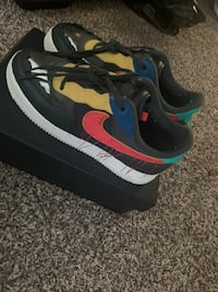 Black history air force ones size 8.5