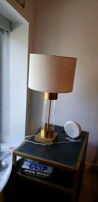 2 x Avenue Brass Table Lamp with USB Port Cambridge, 02140