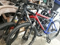 red and black hard tail mountain bike Surrey, V3S 0E5