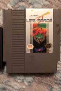 Nintendo NES Life Force Game