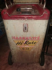Vintage Marquette battery charger & tester White City, 97503