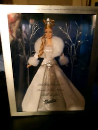 FIRST IN THE SERIES LIMITED EDITION 2003 HOLIDAY BARBIE