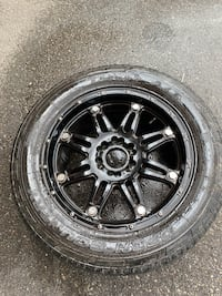 "Four 20"" rims and tires/ need gone ASAP Brampton, L6S 1S9"