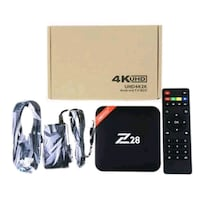 TV BOX Z28 ANDROİD 7.1