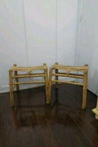 brown wooden bed frame with mattress 542 km