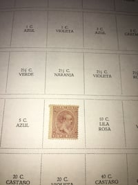 1898 Cuba Stamps Sc 163 King Alfonso Spain 3c New