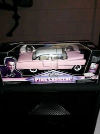 pink Cadillac scale model Milwaukee, 53219