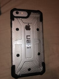 Silver iphone 6 with black case Houston, 77022
