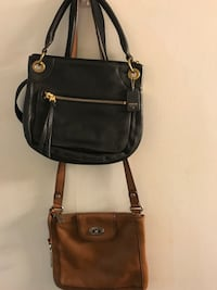 Authentic Fossil Crossbody Bag (135$ for both) Toronto, M3J 1E4