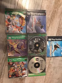 Playstation 1 games Barrie, L4N 7J1