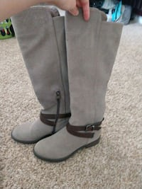 Grey high rise boots  Englewood, 80111