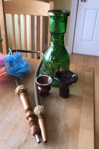 """Egyptian 11"""" Hookah Glass base only and accessories"""