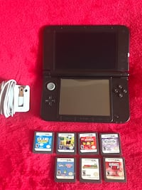 Nintendo 3DS XL Red Edition.  New York, 10025