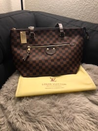 brown Louis Vuitton Monogram leather tote bag Sacramento, 95841