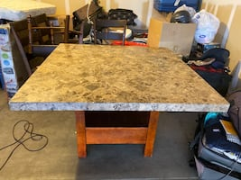Marble Dining table $50