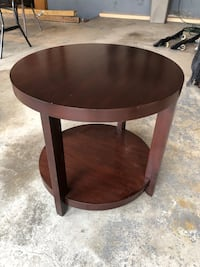 End / Side tables round square