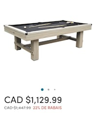 BRAND NEW Bryce Standard Pool Table Playcraft
