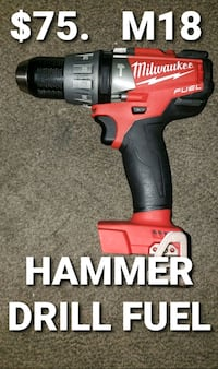 Milwaukee hammer drill fuel