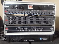 Efx rack complete with Peavey 2600 Amp. District Heights, 20747