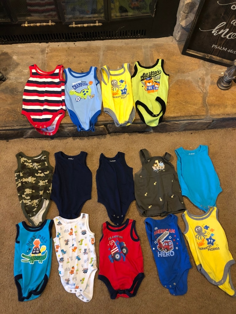 Photo Summer clothes for baby boys