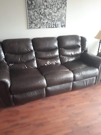 Leather Couch Kitchener