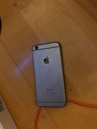silver iPhone 6 with case Montréal, H4R 1J7