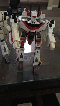 White and red robot action figure Las Vegas, 89138