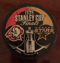 SABRES STANLEY CUP PLAYOFFS 1999 Collectible PUCK Buffalo, 14224
