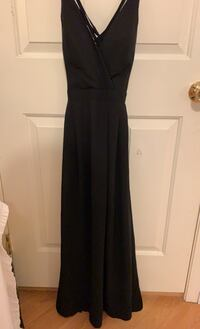Small black maxi dress  Vancouver, V5P 1V5