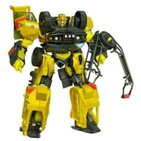 yellow and black robot toy 3745 km