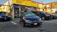 2015 HONDA CIVIC EX-L COUPE LOADED BLACK ON BLACK WITH ONLY 88 KM Toronto