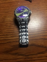 Black and purple watch for men. Des Plaines, 60016
