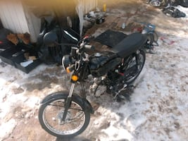 125cc cafer racer Boomcat Moped