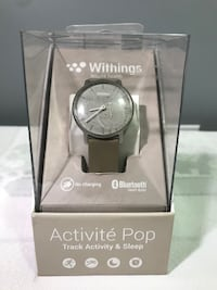 AS-IS WITHINGS ACTIVITE POP TRACKING WATCH (TO FIX/PARTS) - FJN Cambridge, N1P 1E3