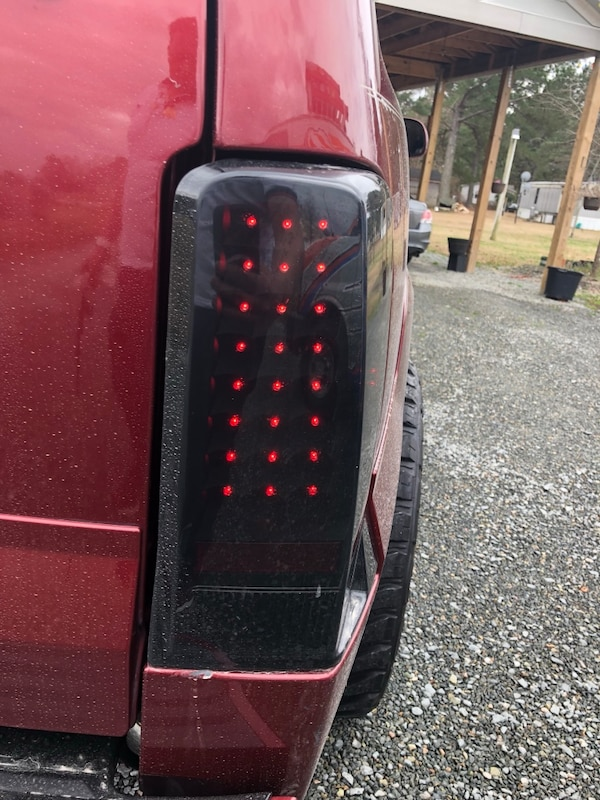 Selling my led tailights  they are 2 months old there in great conditions they are just a little dirty