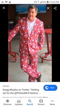 Phillies Suit
