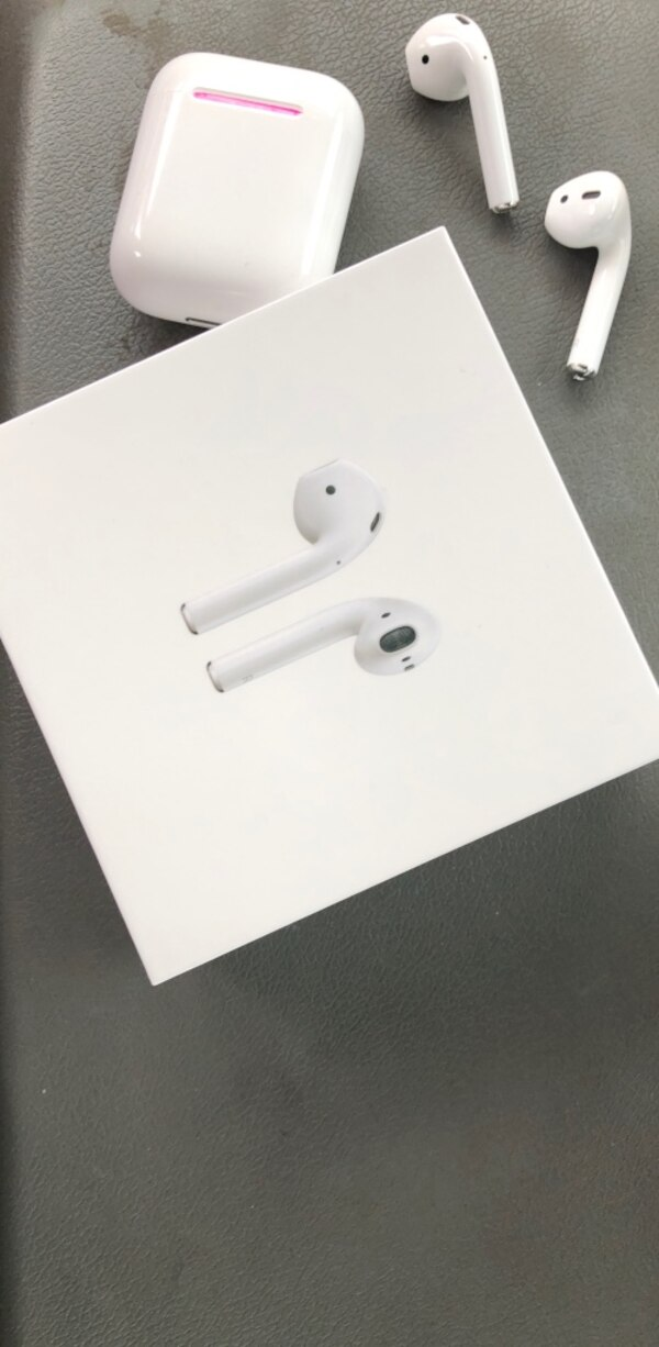 APPLE AIRPODS IN UNOPENED BOX