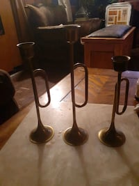 Trumpet Candle Holders