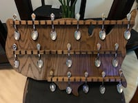 16 states spoons with Holder